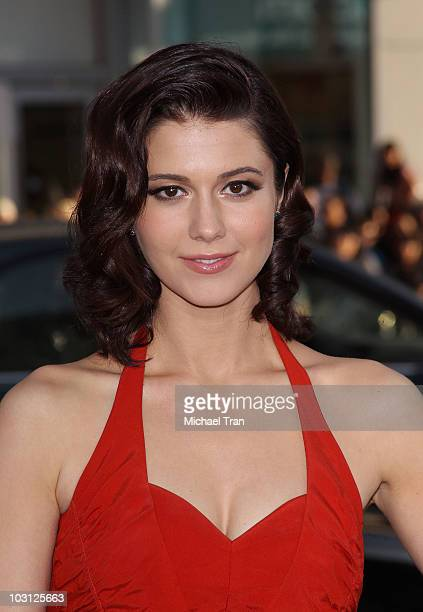 Mary Elizabeth Winstead arrives to the Los Angeles premiere of 'Scott Pilgrim VS The World' held at Grauman's Chinese Theatre on July 27 2010 in...