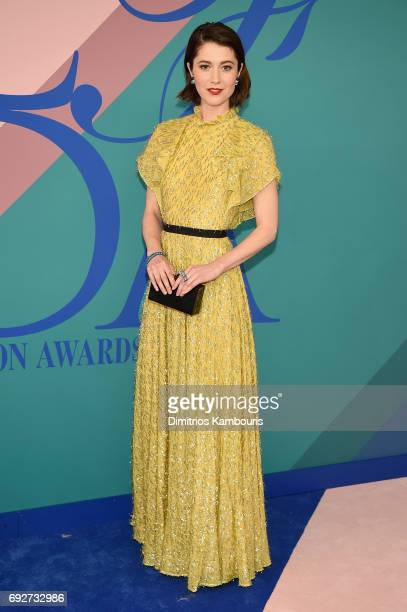 Mary Elizabeth Winstead attends the 2017 CFDA Fashion Awards at Hammerstein Ballroom on June 5 2017 in New York City
