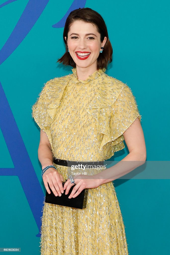 Mary Elizabeth Winstead attends the 2017 CFDA Fashion Awards at Hammerstein Ballroom on June 5, 2017 in New York City.