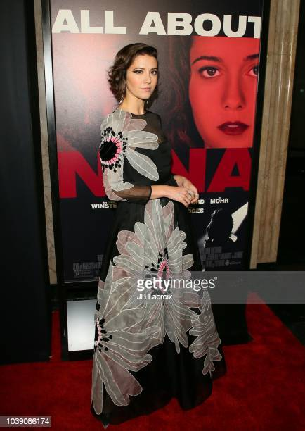 Mary Elizabeth Winstead attends the 2018 LA Film Festival 'All About Nina' premiere on September 23 2018 in Los Angeles California