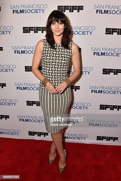 """Mary Elizabeth Winstead attends the 57th San Francisco International Film Festival on closing night for the Premiere of """"Alex of Venice"""" at Castro..."""