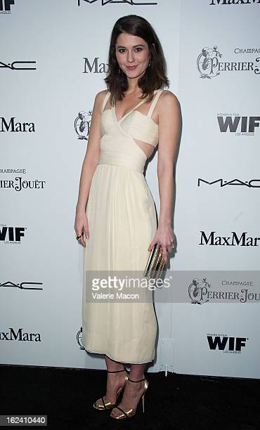 Mary Elizabeth Winstead attends the 6th Annual Women In Film PreOscar Party hosted by Perrier Jouet MAC Cosmetics and MaxMara at Fig Olive Melrose...