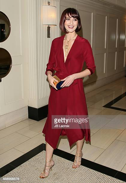 Mary Elizabeth Winstead attends the 'Alex Of Venice' Los Angeles premiere held at the London Hotel on April 8 2015 in West Hollywood California