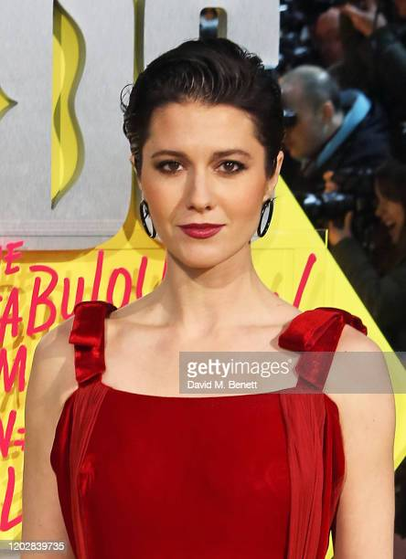 Mary Elizabeth Winstead attends the World Premiere of Birds Of Prey at the Odeon IMAX Waterloo on January 29 2020 in London England