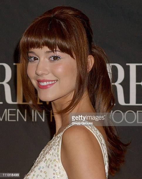 Mary Elizabeth Winstead during 13th Annual Premiere Women in Hollywood Arrivals at Beverly Hills Hotel in Beverly Hills California United States
