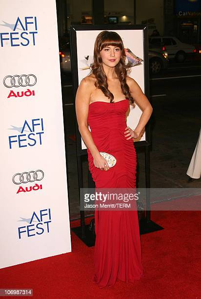 Mary Elizabeth Winstead during AFI Fest 2006 Black Tie Opening Night Gala and US Premiere of Emilio Estevez's 'Bobby' Arrivals at Grauman's Chinese...