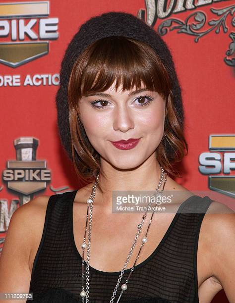 Mary Elizabeth Winstead during Spike TV's Scream Awards 2006 Arrivals at Pantages Theater in Hollywood California United States