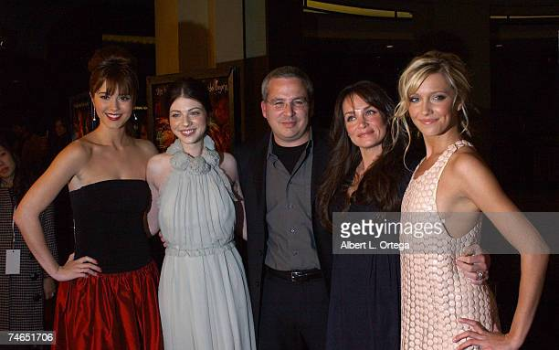 Mary Elizabeth Winstead Michelle Trachtenberg Glen Morgan Kristen Cloke and Katie Cassidy at the Mann's Chinese 6 in Hollywood California