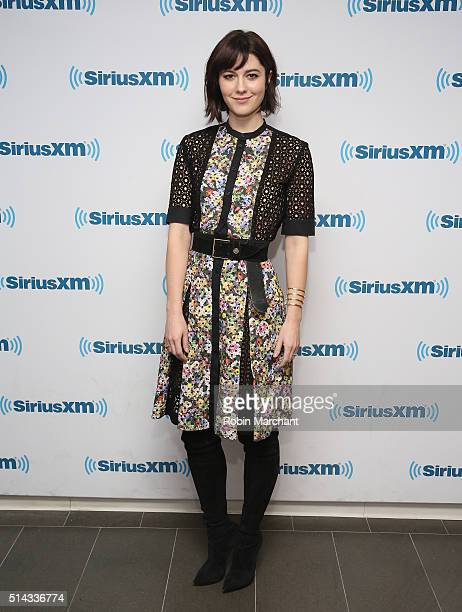 Mary Elizabeth Winstead visits at SiriusXM Studio on March 8, 2016 in New York City.