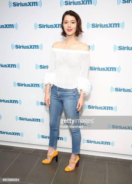Mary Elizabeth Winstead visits at SiriusXM Studios on June 6, 2017 in New York City.