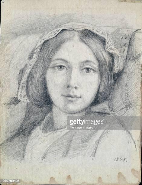 Mary Ellen Meredith, 1858. Artist Henry Wallis.