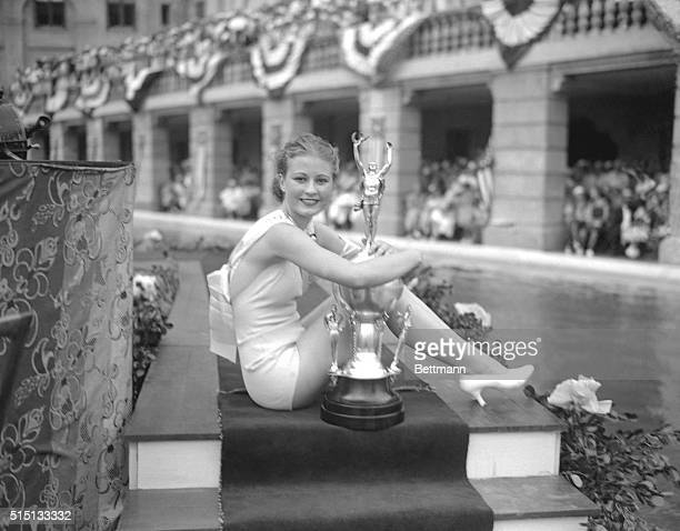 Mary Elsie Weems was awarded the title Miss Florida at a beauty contest held at the Miami Biltmore Hotel, Coral Gables, Florida, recently. Miss Weems...