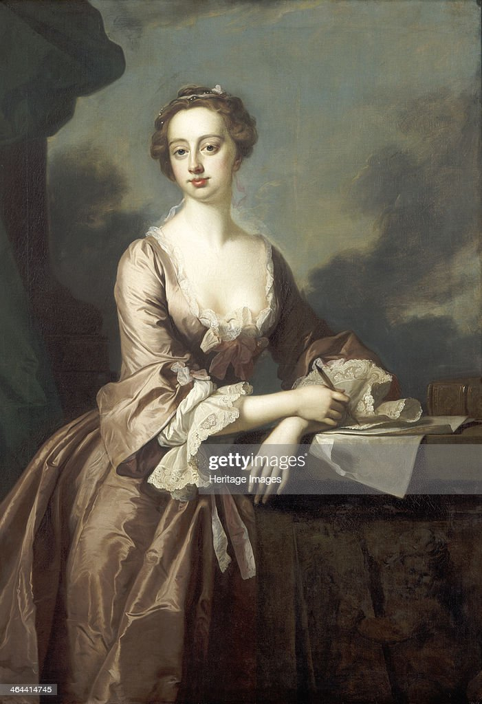 Mary Finch, Viscountess Andover, 1746. Artist: Thomas Hudson : News Photo