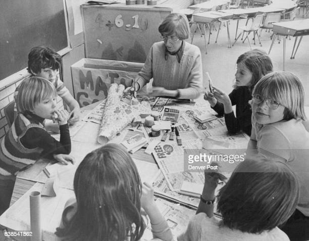 Mary Foley Teaches Village Heights Pupils Decoupage at one of 40 MiniClasses The miniclasses were taught over two days during what the school called...