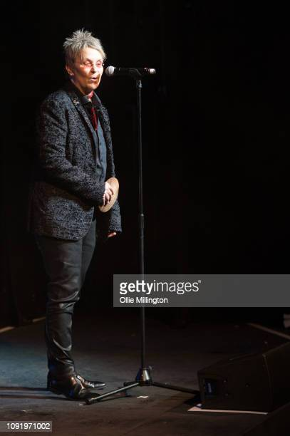 Mary Gauthier performs onstage at the UK Americana Awards 2019 held at Hackney Empire on January 29 2019 in London England