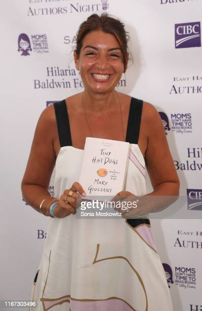 Mary Giuliani at the East Hampton Library's 15th Annual Authors Night Benefit on August 10 2019 in Amagansett New York