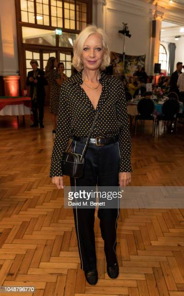 Mary Greenwell attends the 'ASAP African Solutions To African Problems' VIP lunch at RHS Lindley Hall on October 10 2018 in London England