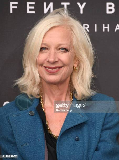 Mary Greenwell attends the 'FENTY Beauty' by Rihanna launch Party at Harvey Nichols Knightsbridge on September 19 2017 in London England