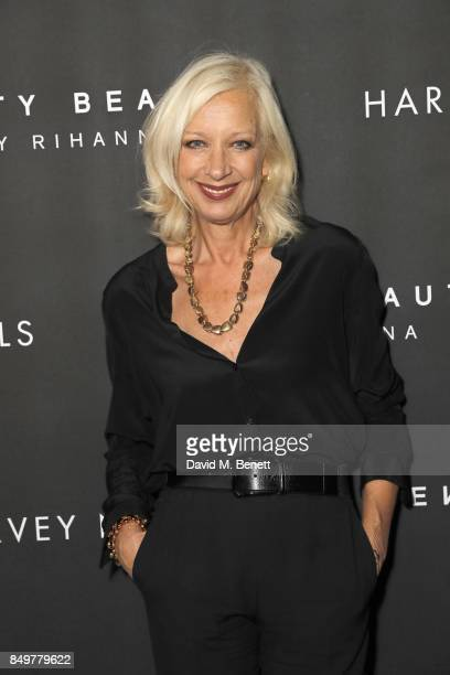 Mary Greenwell attends the Fenty Beauty x Harvey Nichols launch at Harvey Nichols on September 19 2017 in London England