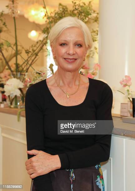 Mary Greenwell attends the UK launch event for clean luxury beauty brand Westman Atelier hosted by international makeup artist and brand founder...