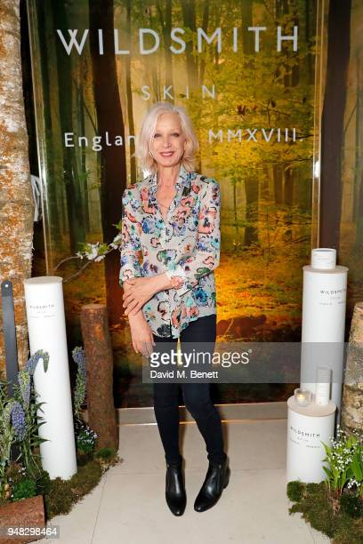 Mary Greenwell attends the Wildsmith Skin launch dinner cohosted by Skye Gyngell Kathleen BairdMurray at Spring at Somerset House on April 18 2018 in...