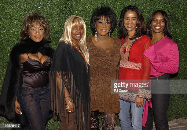 Mary Griffith Janice Combs Patti LaBelle Audra Woodard Mary Brown