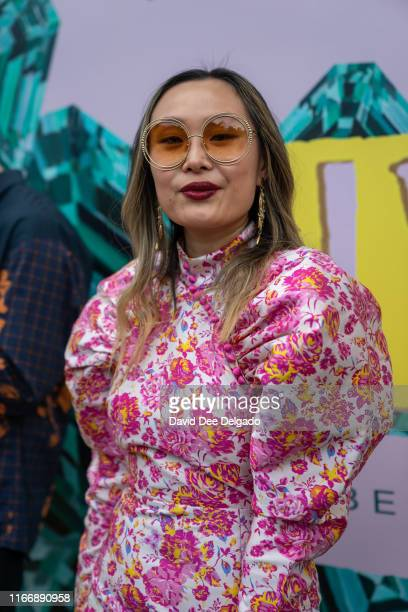 Mary Gui at Spring Studios during New York Fashion Week on September 8 2019 in New York City