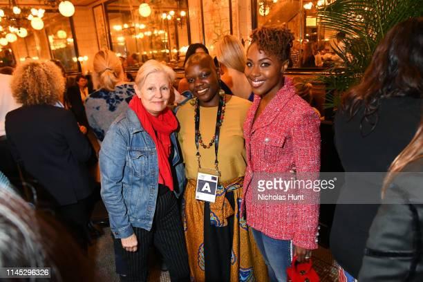 Mary Harron Agunda Okeyo and DeWanda Wise attend as Chanel hosts THROUGH HER LENS 2019 Tribeca Film Festival Women's Filmmaker Luncheon at Augustine...