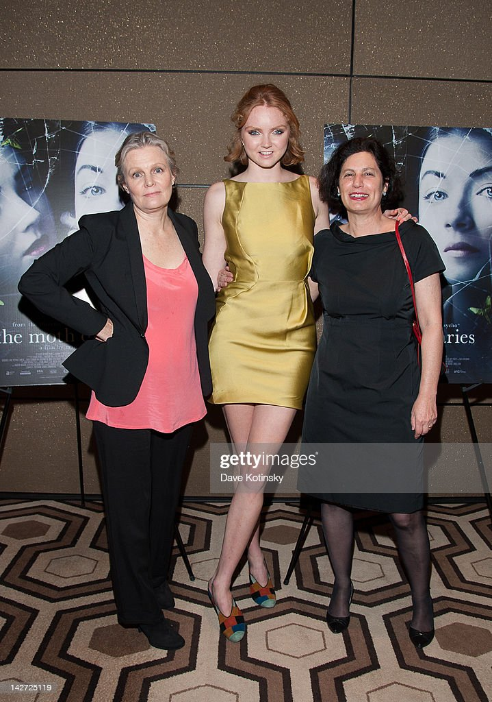 Mary Harron Lily Cole And Rachel Klein Attend The Moth Diaries New