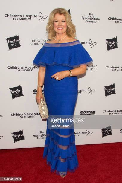 Mary Hart arrives for 2018 From Paris with Love Children's Hospital Los Angeles Gala at LA Live Event Deck on October 20 2018 in Los Angeles...