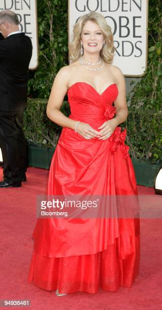 Mary Hart arrives for the 66th Annual Golden Globe Awards in Beverly Hills California US on Sunday Jan 11 2009 Heath Ledger received a posthumous...