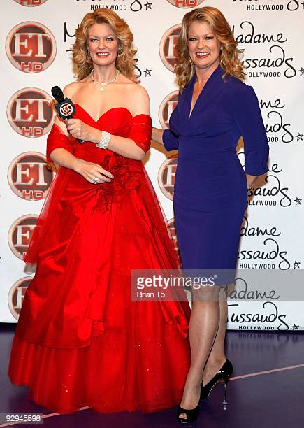 Mary Hart attends Mary Hart Wax Figure Unveiling At Madame Tussauds Hollywood at Madame Tussauds on November 9, 2009 in Hollywood, California.