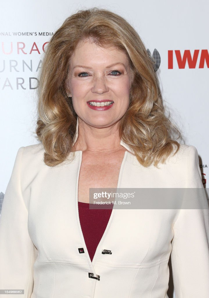 Mary Hart attends the 2012 International Women's Media Foundation's Courage In Journalism Awards at The Beverly Hills Hotel on October 29, 2012 in Beverly Hills, California.