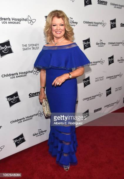 Mary Hart attends the 2018 Children's Hospital Los Angeles From Paris With Love Gala at LA Live on October 20 2018 in Los Angeles California