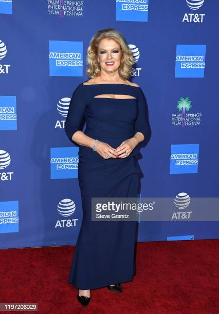 Mary Hart attends the 31st Annual Palm Springs International Film Festival Film Awards Gala at Palm Springs Convention Center on January 02 2020 in...