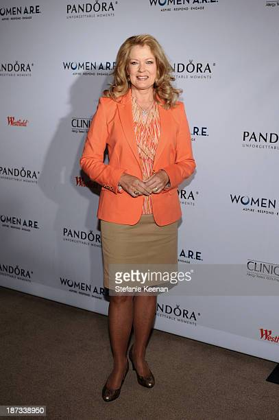 Mary Hart attends WOMEN ARE Inaugural Summit Presented By PANDORA at SLS Hotel on November 7 2013 in Beverly Hills California