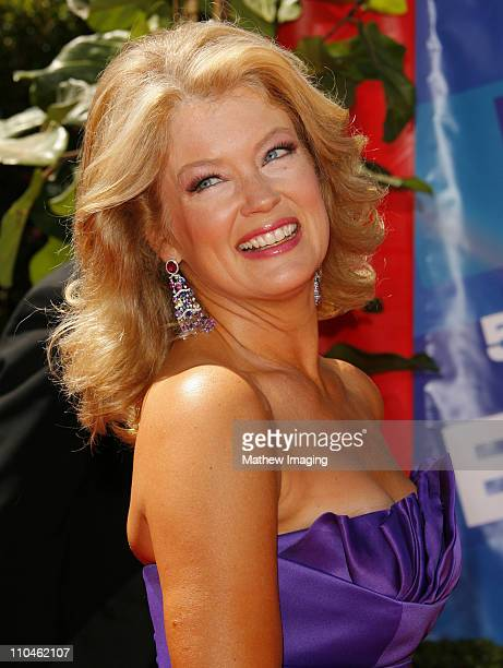 Mary Hart during 58th Annual Primetime Emmy Awards - Arrivals at Shrine Auditorium in Los Angeles, California, United States.