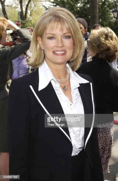 """Mary Hart during American Women in Radio and Television book launch luncheon for """"Making Waves: The 50 Greatest Women in Radio and Television"""" at..."""
