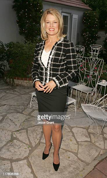 Mary Hart during Palm Springs International Film Festival - Meet and Greet at Private Residence in Beverly Hills, California, United States.