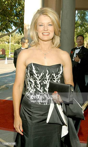 Mary Hart during Rick Weiss Humanitarian Awards Gala at Westin Mission Hills Resort in Rancho Mirage California United States