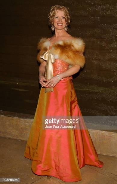 Mary Hart during The 61st Annual Golden Globe Awards HBO Party at Beverly Hilton in Beverly Hills California United States