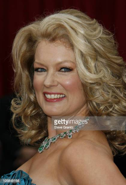Mary Hart during The 79th Annual Academy Awards - Arrivals at Kodak Theatre in Los Angeles, California, United States.
