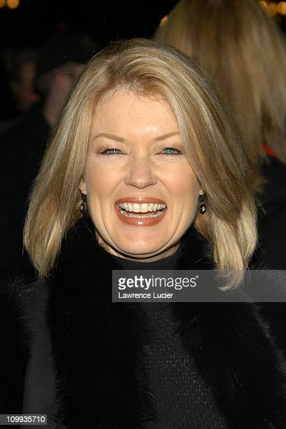 Mary Hart during The Last Samurai - New York Premiere at The Zeigfeld Theater in New York City, New York, United States.