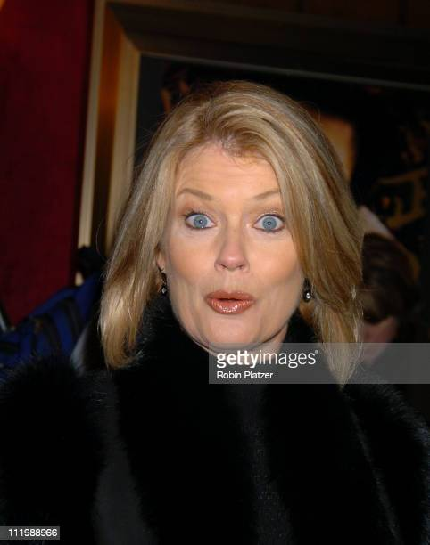 Mary Hart during 'The Last Samurai' New York Premiere at The Zeigfeld Theater in New York City New York United States