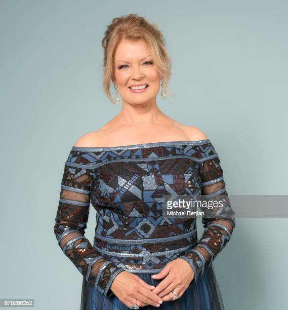 Mary Hart poses for portrait at The 44th Daytime Emmy Awards Portraits by The Artists Project Sponsored by Foster Grant on April 30 2017 in Los...
