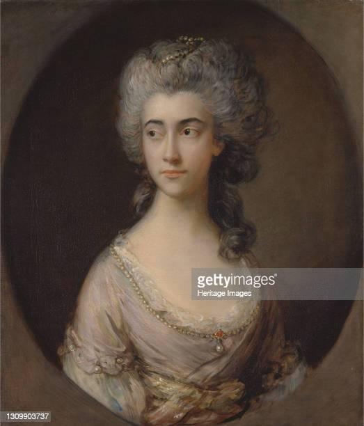 Mary Heberden;Miss Hebberden, ca. 1777. Artist Thomas Gainsborough. .