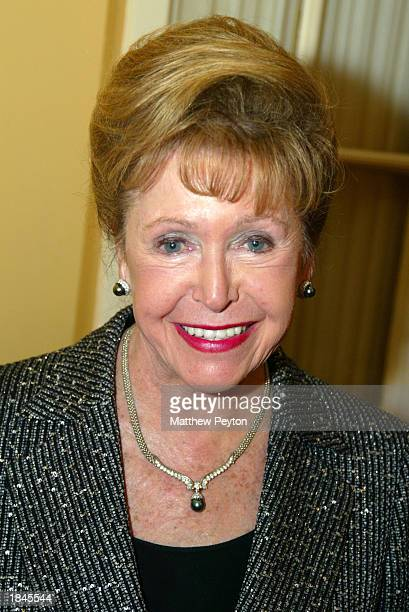 Mary Higgins Clark attends Marymount Manhattan Writing Center Anniversary Party honoring writer Evan Hunter at the Columbus Club on March 12 2003 in...