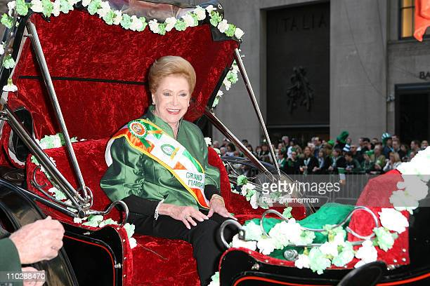 Mary Higgins Clark attends the 250th Annual St Patrick's Day Parade on March 17 2011 in New York City