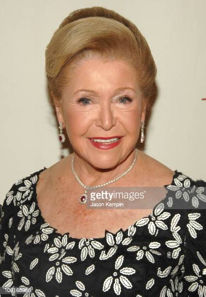Mary Higgins Clark attends the 3rd Annual Quill Awards at Fredrick P Rose Hall on October 22 2007 in New York City