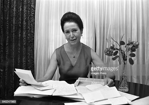 Mary Higgins Clark circa 1976 in New York City